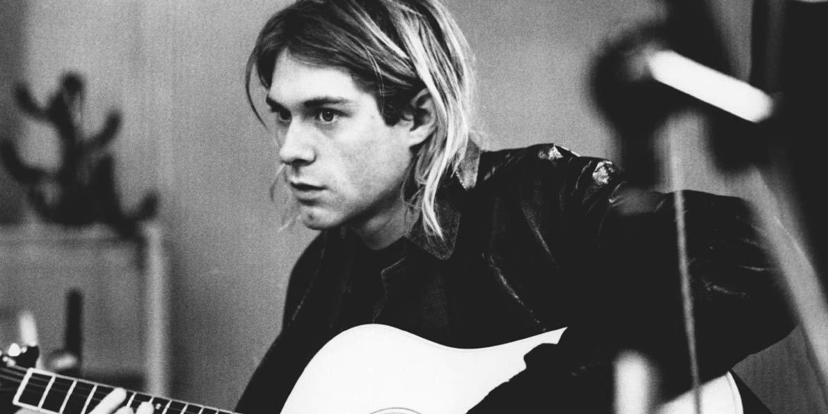 Kurt Cobain to promote Fender Guitar