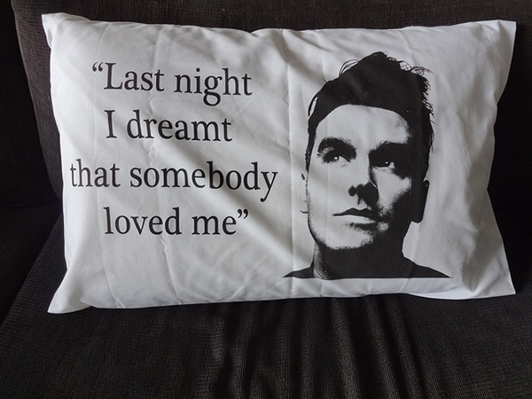 morrissey pillow case