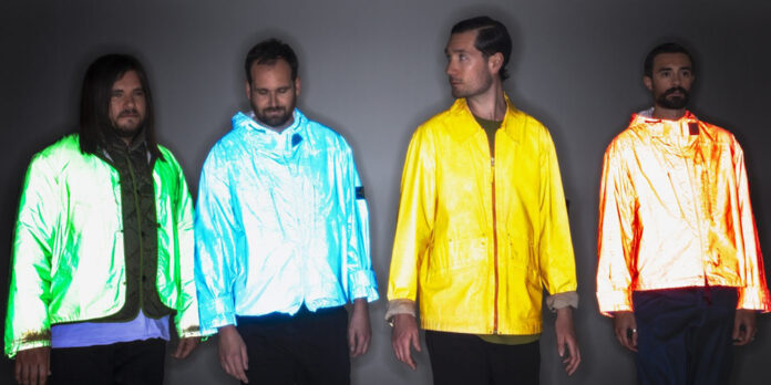 Bastille promoting their new single 'Distorted Light Beam'