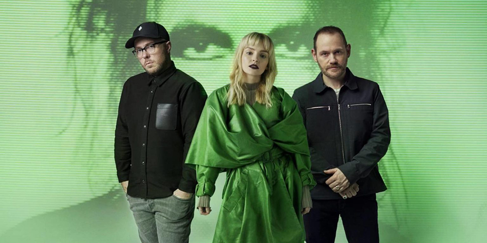 CHVRCHES and Robert Smith promoting 'How Not to Drown'