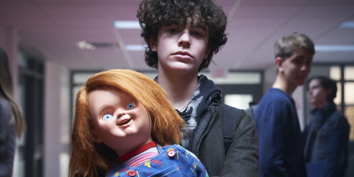 Zackary Arthur as Jake Webber and Chucky