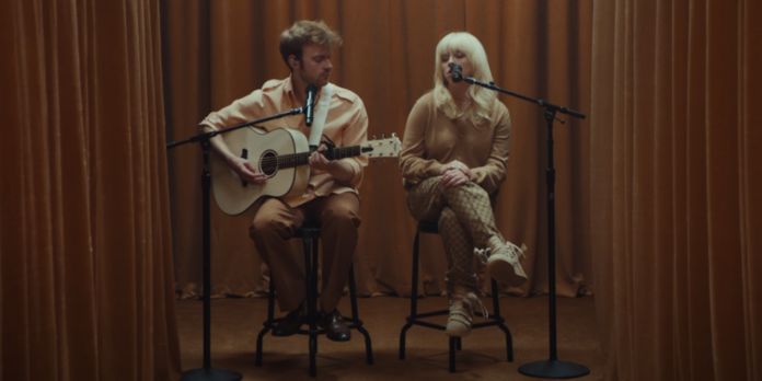 Billie Eilish and Finneas performing Your Power