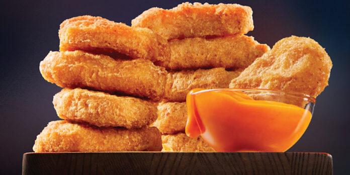 McDonald's Canada spicy nuggets