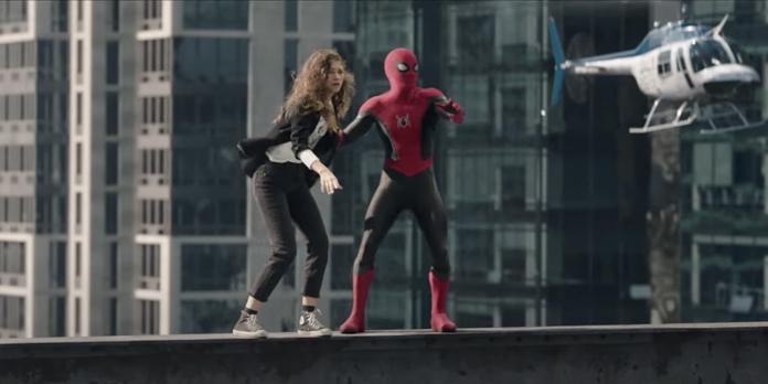 Still from Spider-Man: No Way Home