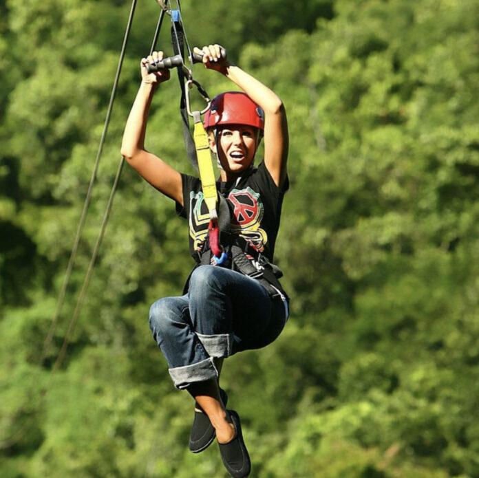 Jamaican zipline