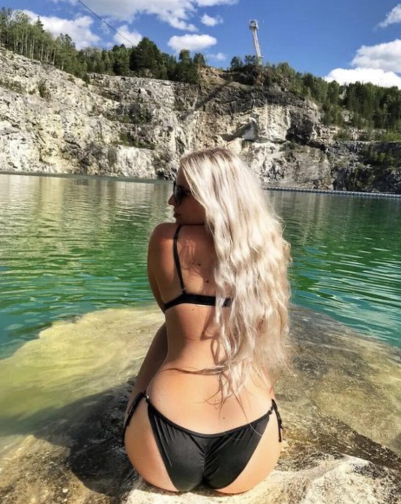 Swimming at Morrisons quarry