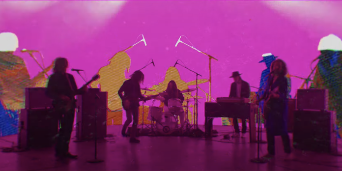 My Morning Jacket in video for Love Love Love