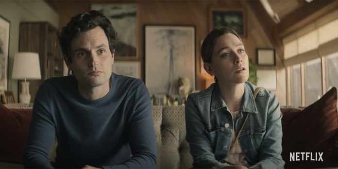 Still from You on Netflix