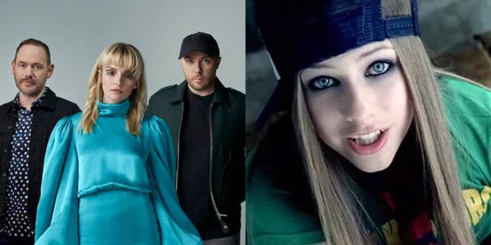 CHVRCHES and Avril Lavigne